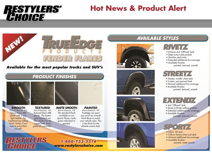 Restylers Choice Fender Flares